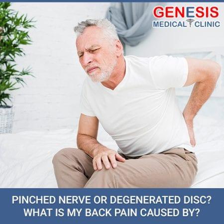 Pinched Nerve Or Degenerated Disc? What Is My Back Pain Caused By?